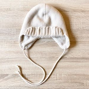 J. CREW Sherpa Lined Trapper Hat.